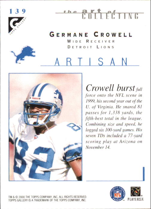 2000-Topps-Gallery-Football-Card-Pick thumbnail 263