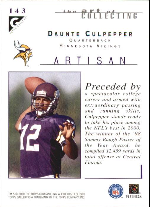 2000-Topps-Gallery-Football-Card-Pick thumbnail 269
