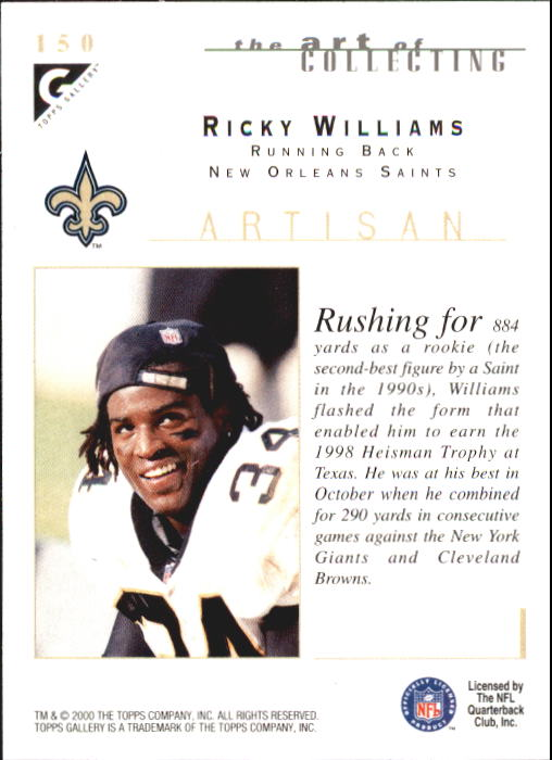 2000-Topps-Gallery-Football-Card-Pick thumbnail 281
