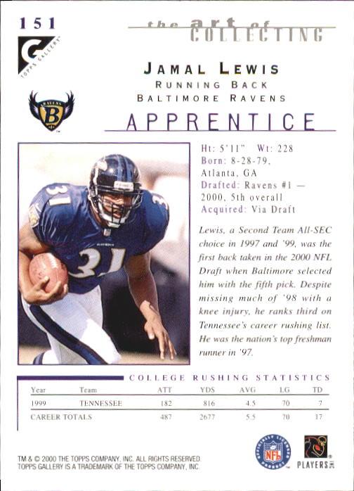 2000-Topps-Gallery-Football-Card-Pick thumbnail 283