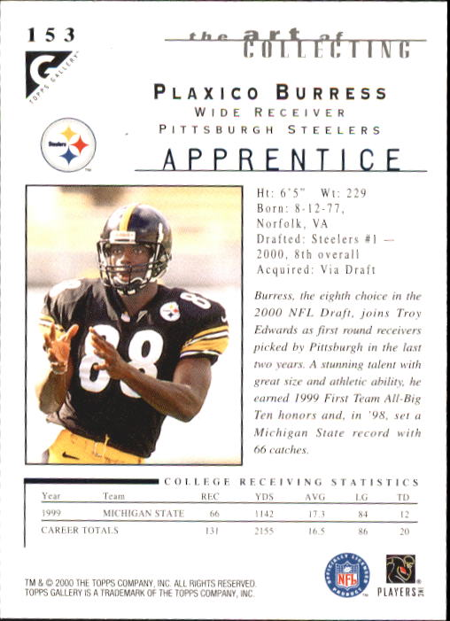 2000-Topps-Gallery-Football-Card-Pick thumbnail 287
