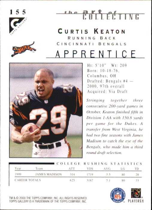 2000-Topps-Gallery-Football-Card-Pick thumbnail 291