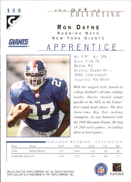 2000-Topps-Gallery-Football-Card-Pick thumbnail 297