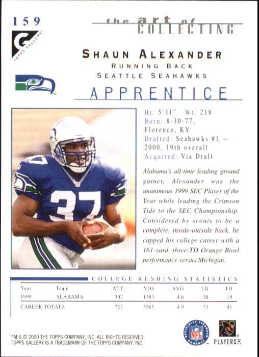2000-Topps-Gallery-Football-Card-Pick thumbnail 299