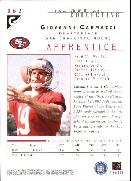 2000-Topps-Gallery-Football-Card-Pick thumbnail 305