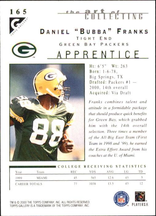 2000-Topps-Gallery-Football-Card-Pick thumbnail 311