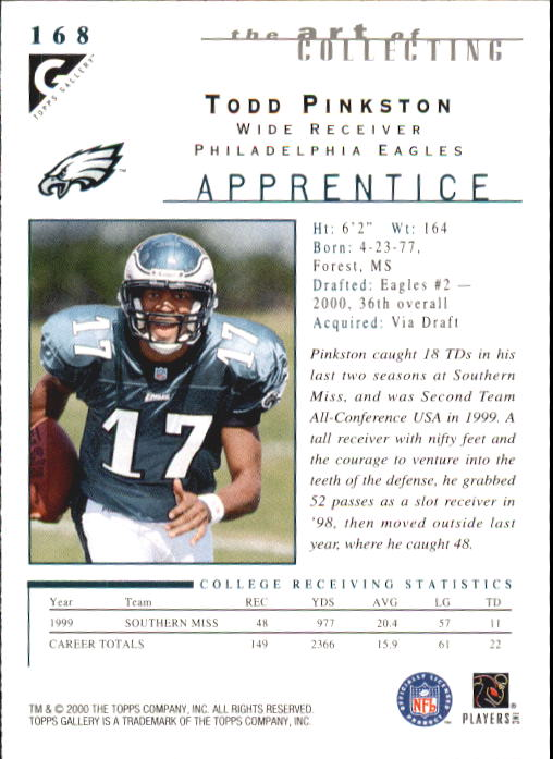 2000-Topps-Gallery-Football-Card-Pick thumbnail 317