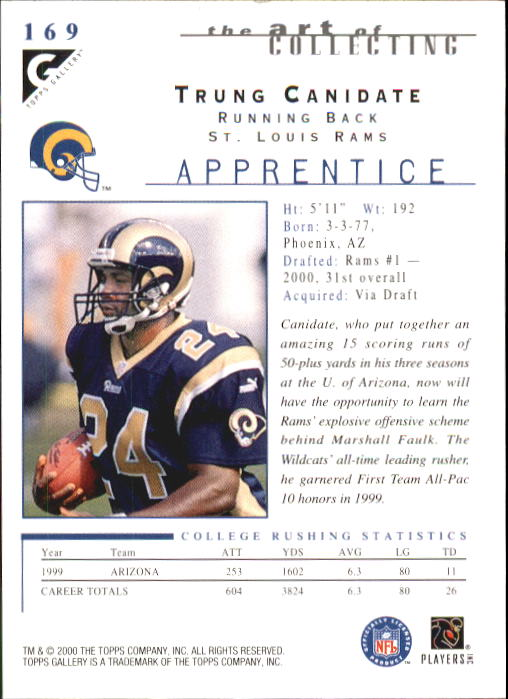 2000-Topps-Gallery-Football-Card-Pick thumbnail 319