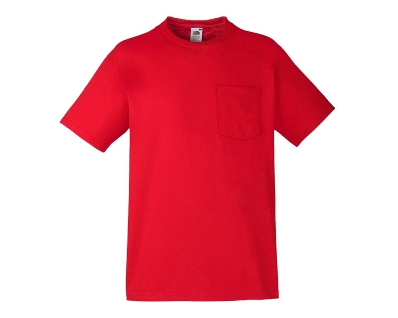 Fruit-of-the-Loom-Hombre-Algodon-Grueso-Manga-Corta-Bolsillo-Camiseta-61202