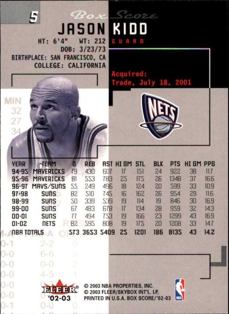 2002-03-Fleer-Box-Score-Basketball-Card-Pick thumbnail 11