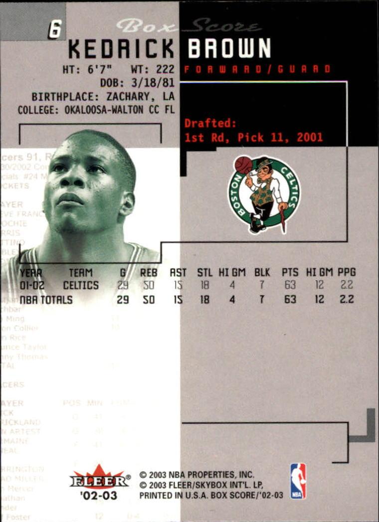 2002-03-Fleer-Box-Score-Basketball-Card-Pick thumbnail 13