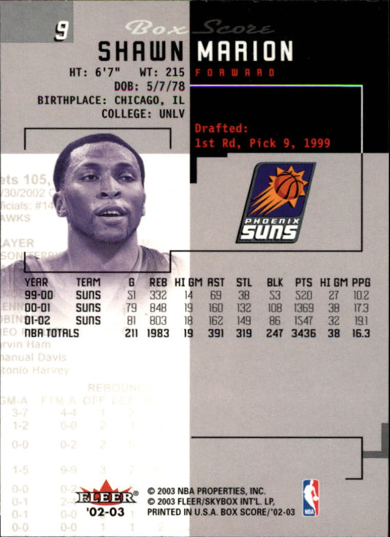 2002-03-Fleer-Box-Score-Basketball-Card-Pick thumbnail 19
