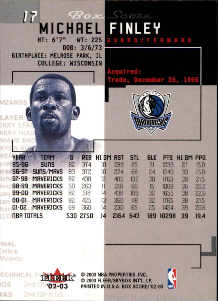 2002-03-Fleer-Box-Score-Basketball-Card-Pick thumbnail 35