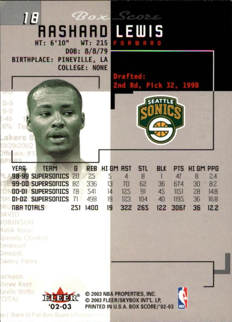 2002-03-Fleer-Box-Score-Basketball-Card-Pick thumbnail 37