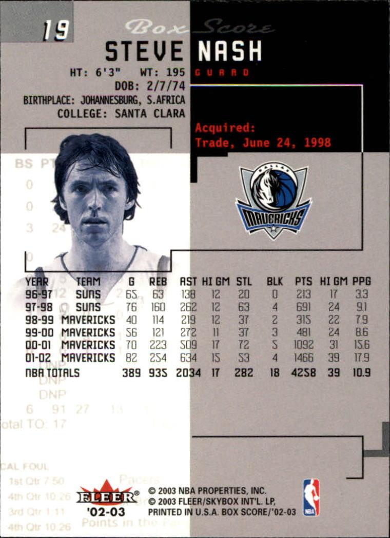2002-03-Fleer-Box-Score-Basketball-Card-Pick thumbnail 39