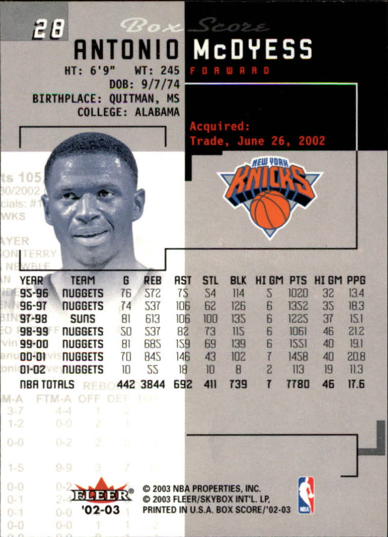 2002-03-Fleer-Box-Score-Basketball-Card-Pick thumbnail 55