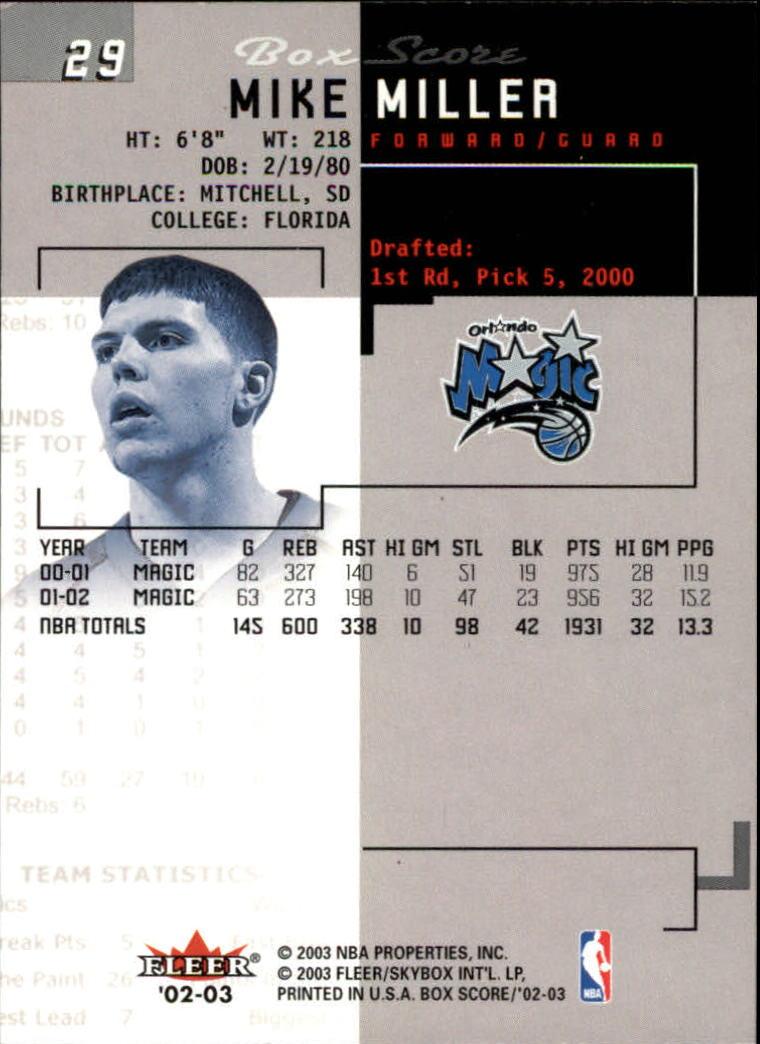 2002-03-Fleer-Box-Score-Basketball-Card-Pick thumbnail 57