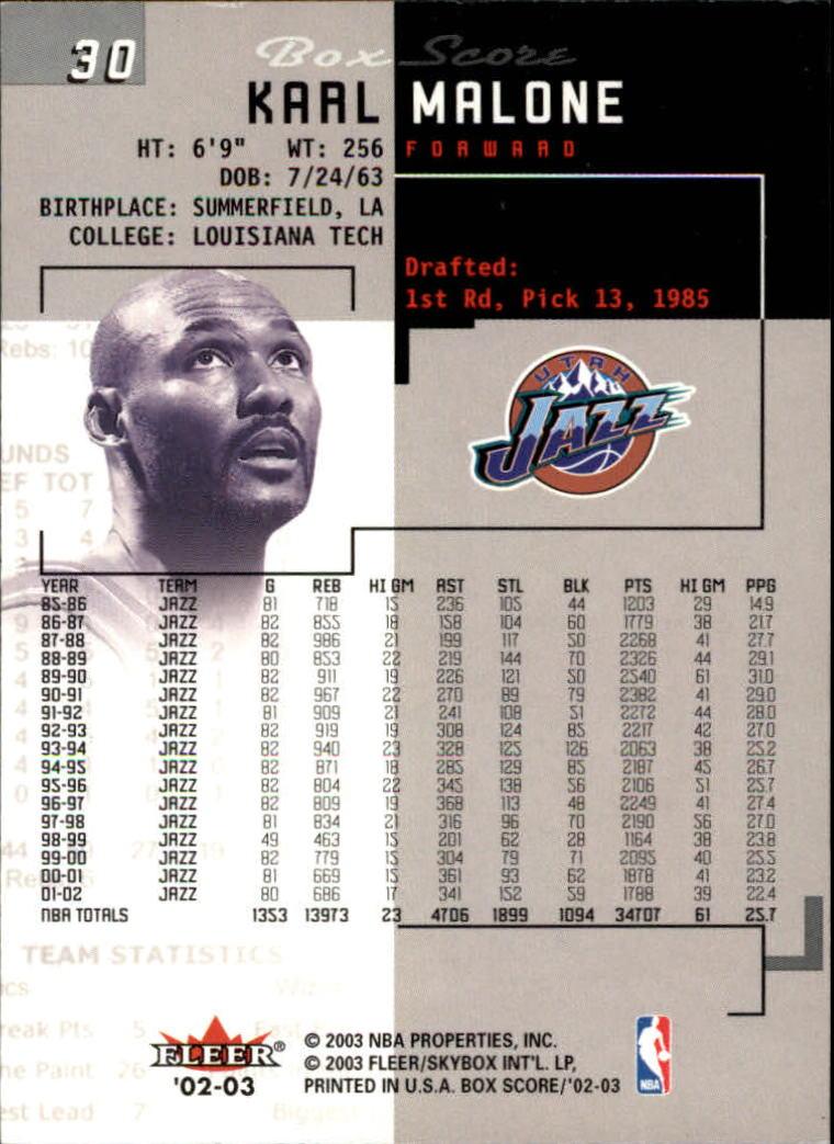 2002-03-Fleer-Box-Score-Basketball-Card-Pick thumbnail 59