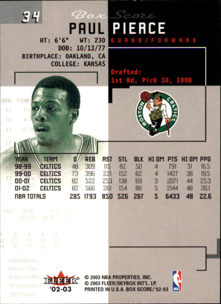 2002-03-Fleer-Box-Score-Basketball-Card-Pick thumbnail 67