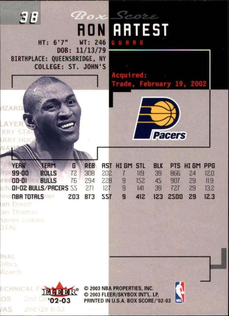 2002-03-Fleer-Box-Score-Basketball-Card-Pick thumbnail 75