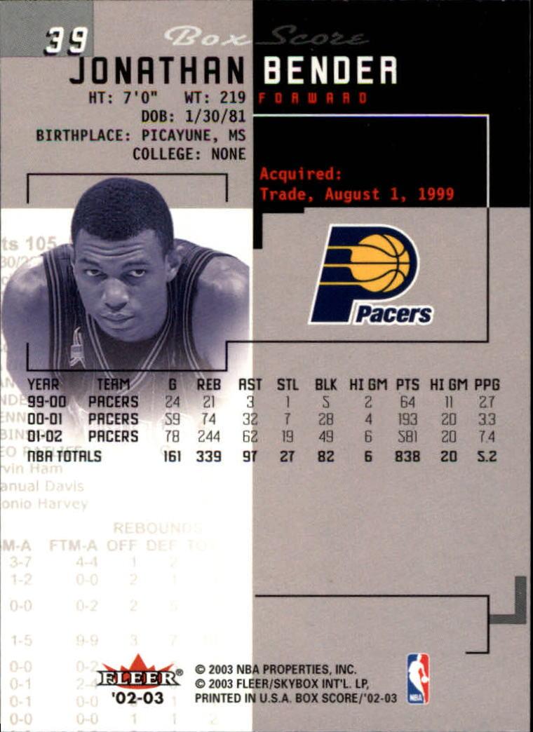 2002-03-Fleer-Box-Score-Basketball-Card-Pick thumbnail 77