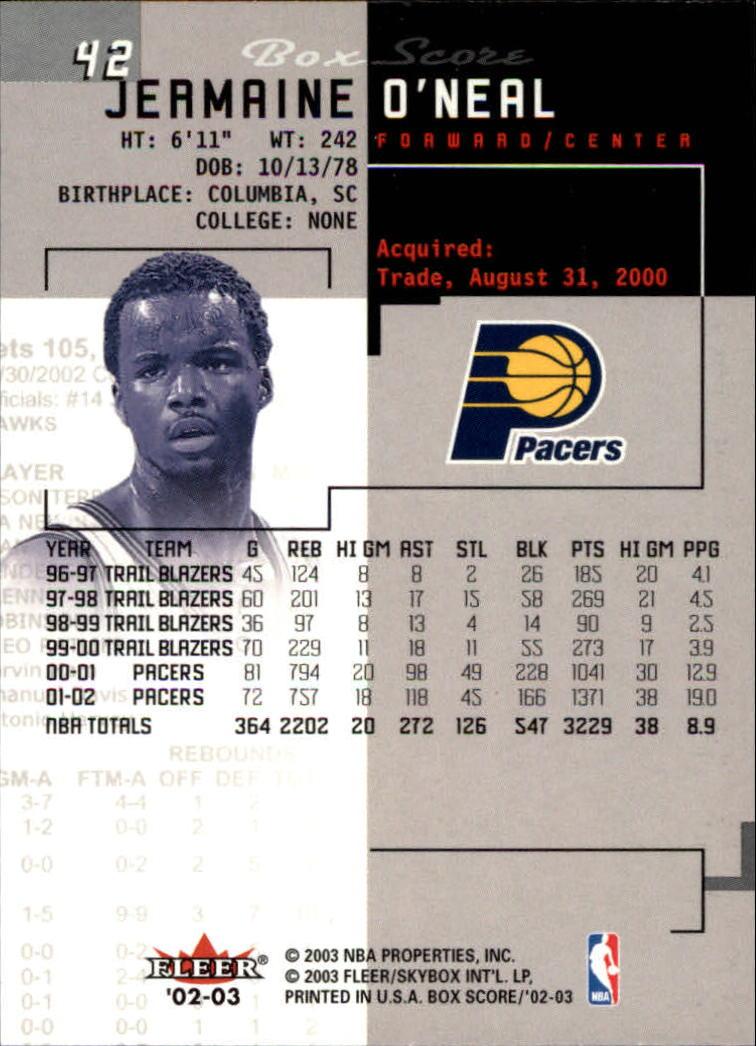 2002-03-Fleer-Box-Score-Basketball-Card-Pick thumbnail 83