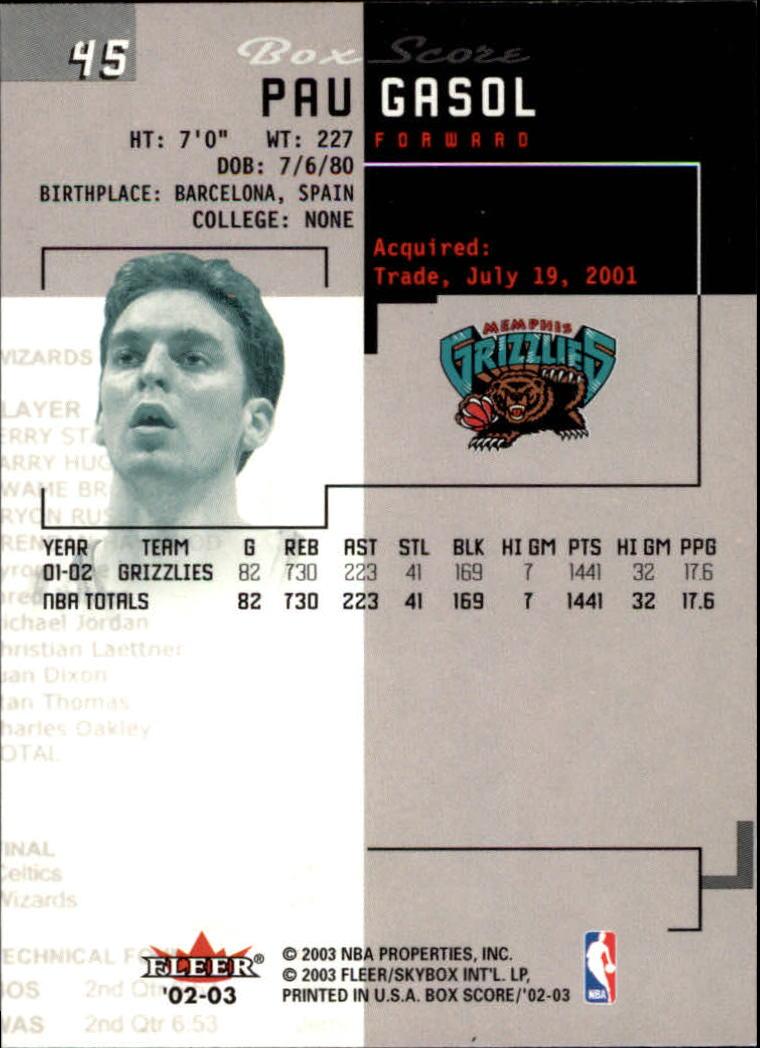 2002-03-Fleer-Box-Score-Basketball-Card-Pick thumbnail 89