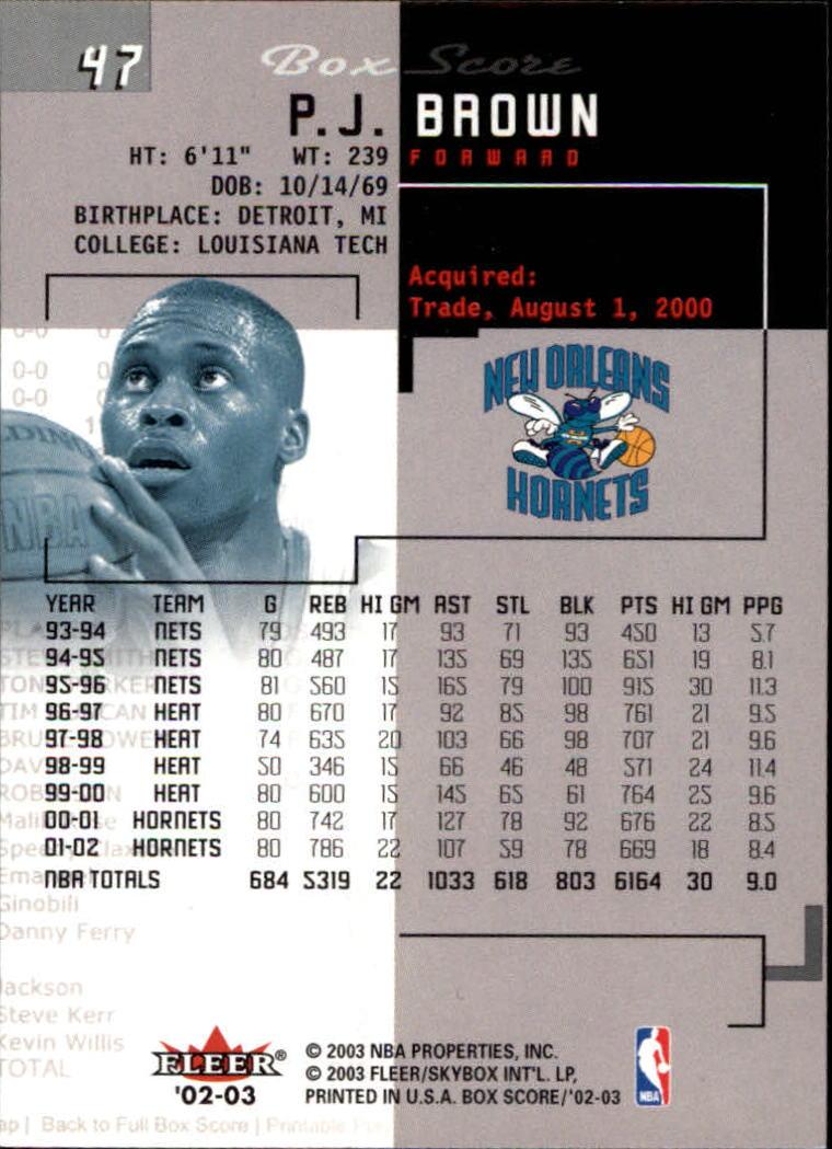 2002-03-Fleer-Box-Score-Basketball-Card-Pick thumbnail 93