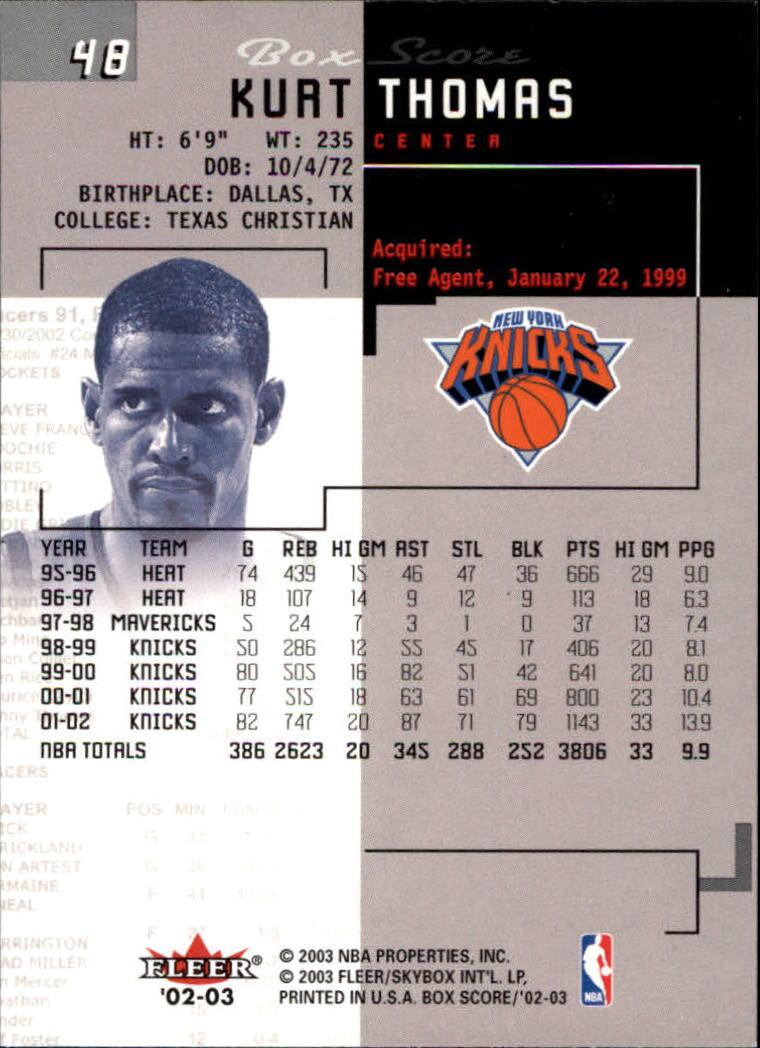 2002-03-Fleer-Box-Score-Basketball-Card-Pick thumbnail 95