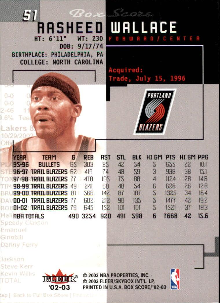 2002-03-Fleer-Box-Score-Basketball-Card-Pick thumbnail 101