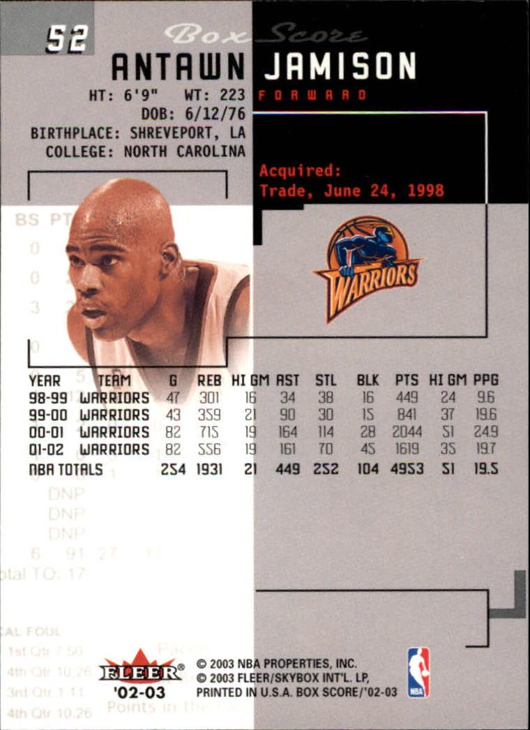 2002-03-Fleer-Box-Score-Basketball-Card-Pick thumbnail 103