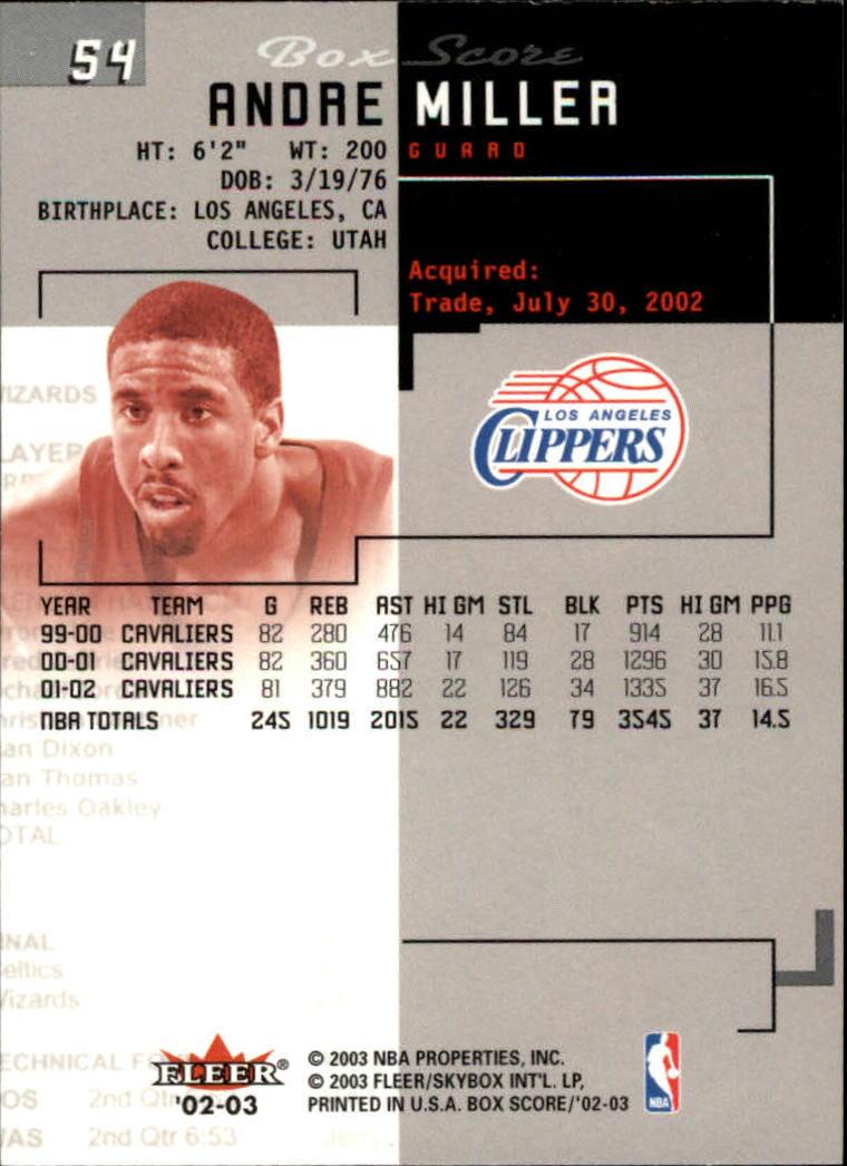 2002-03-Fleer-Box-Score-Basketball-Card-Pick thumbnail 107