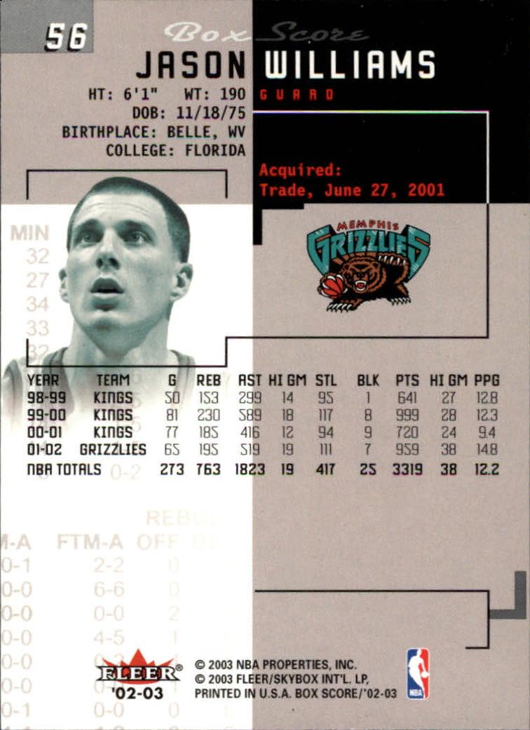 2002-03-Fleer-Box-Score-Basketball-Card-Pick thumbnail 111