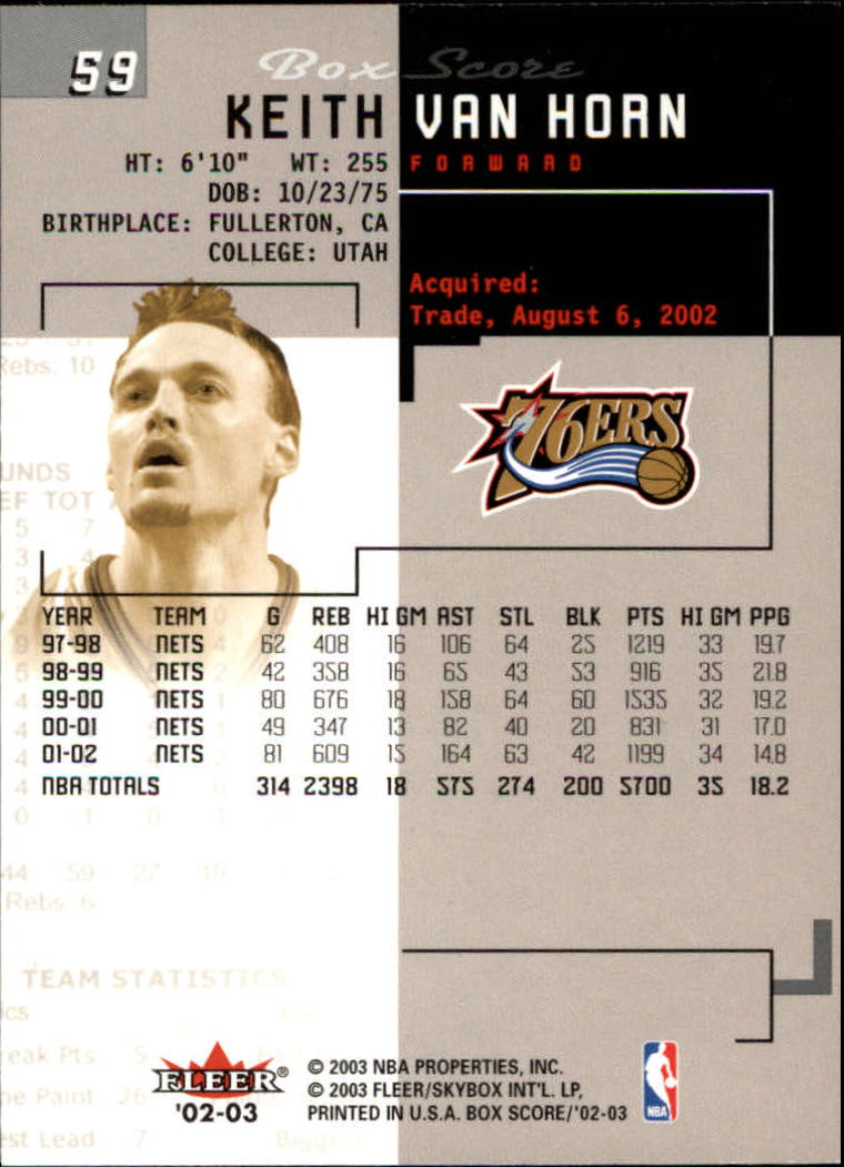 2002-03-Fleer-Box-Score-Basketball-Card-Pick thumbnail 117