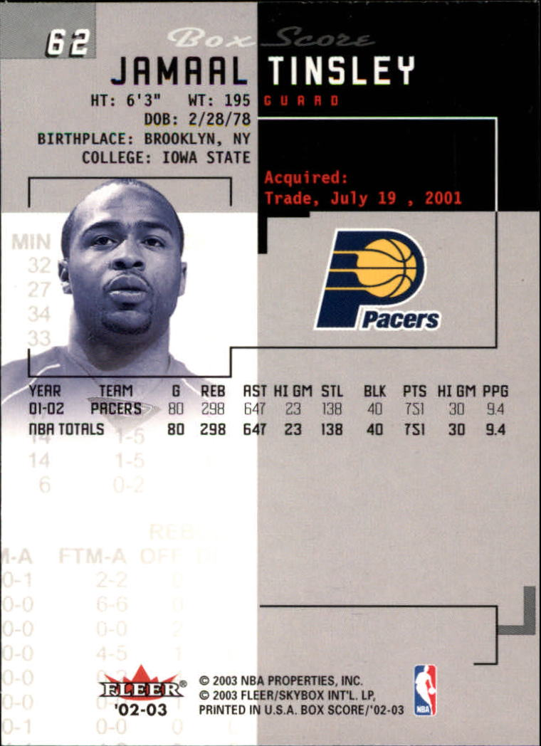 2002-03-Fleer-Box-Score-Basketball-Card-Pick thumbnail 123