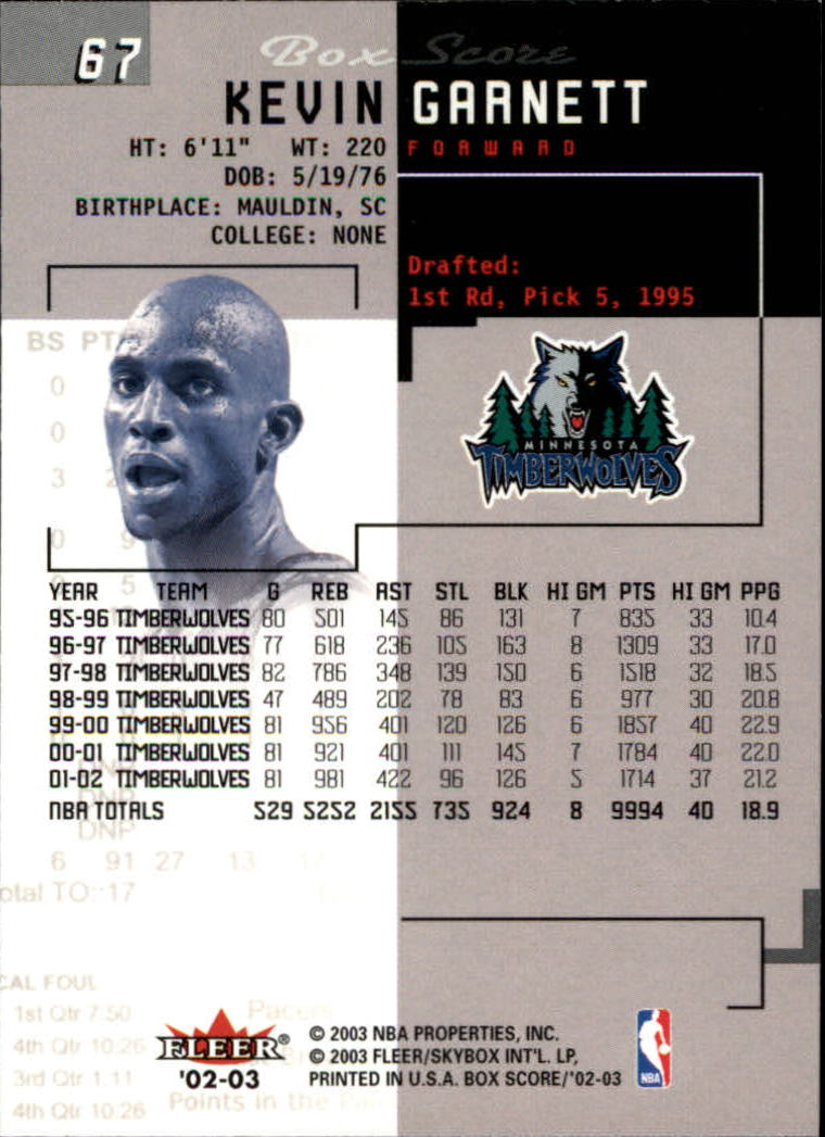 2002-03-Fleer-Box-Score-Basketball-Card-Pick thumbnail 133