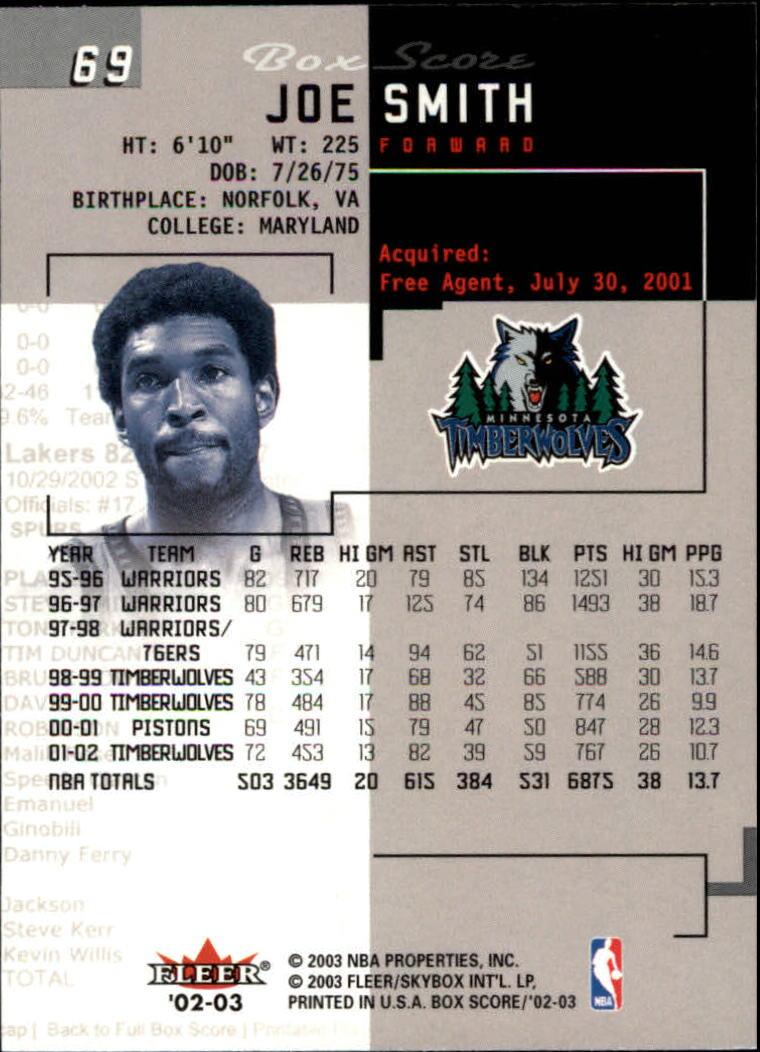 2002-03-Fleer-Box-Score-Basketball-Card-Pick thumbnail 137