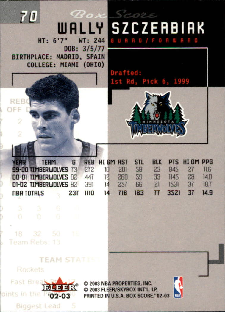 2002-03-Fleer-Box-Score-Basketball-Card-Pick thumbnail 139