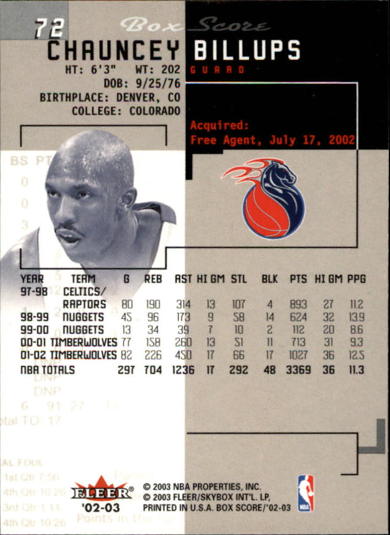 2002-03-Fleer-Box-Score-Basketball-Card-Pick thumbnail 143