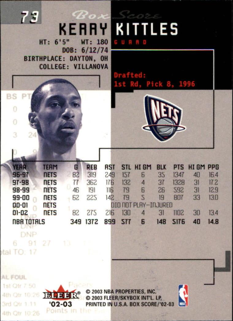 2002-03-Fleer-Box-Score-Basketball-Card-Pick thumbnail 145