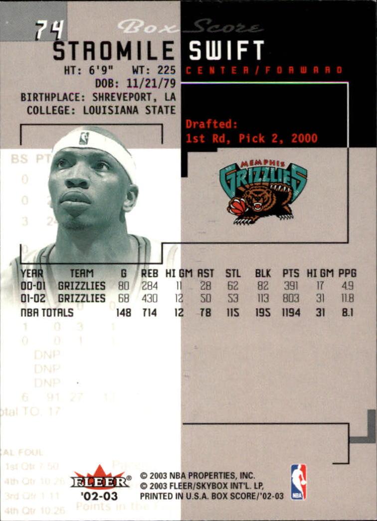 2002-03-Fleer-Box-Score-Basketball-Card-Pick thumbnail 147
