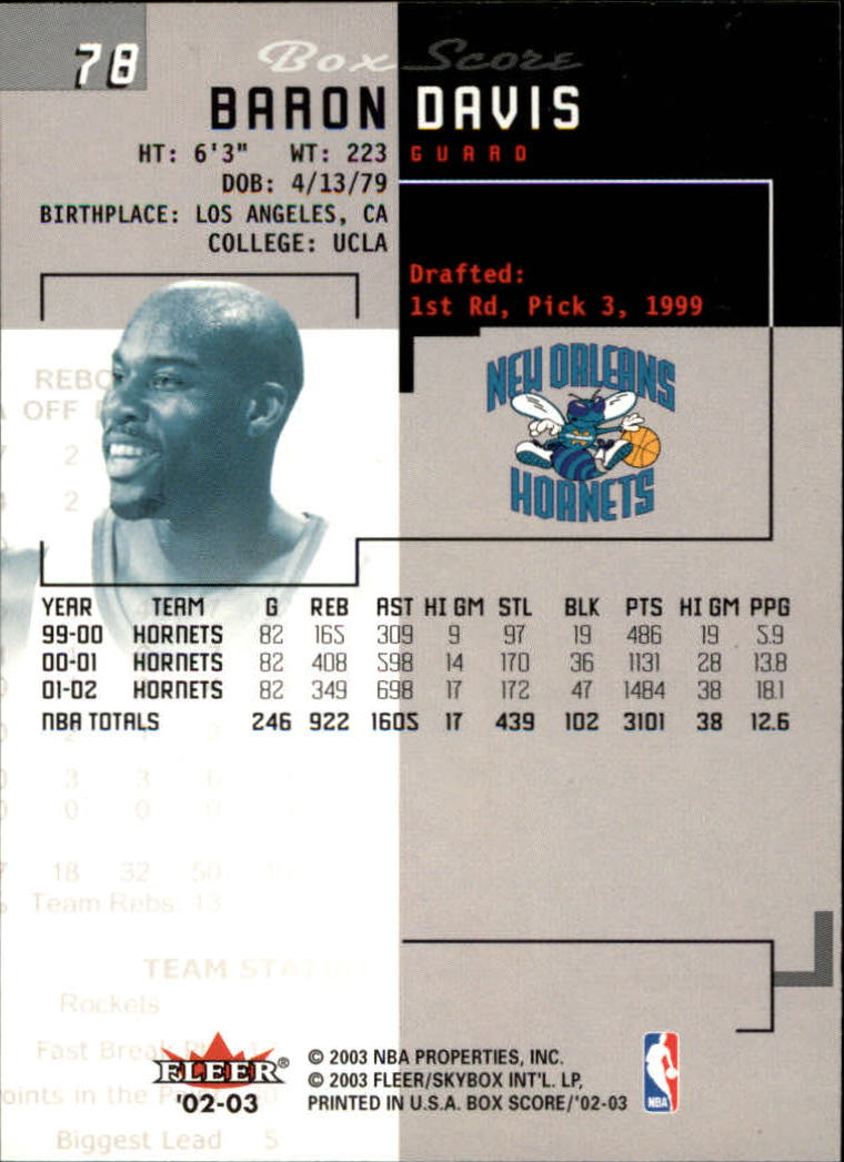 2002-03-Fleer-Box-Score-Basketball-Card-Pick thumbnail 155