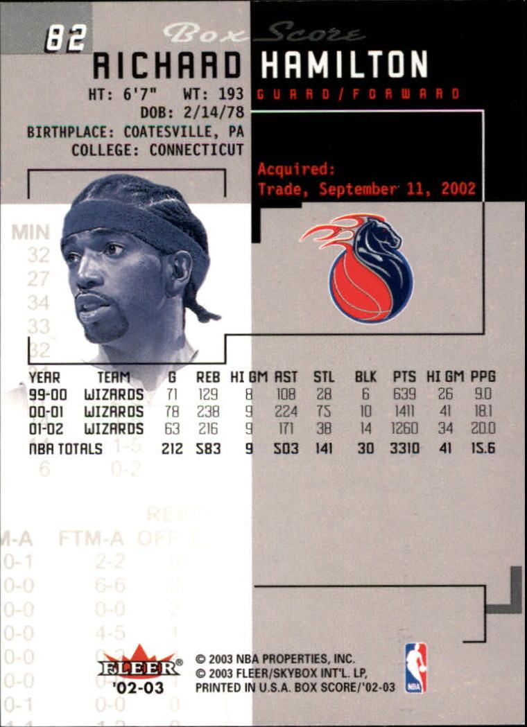 2002-03-Fleer-Box-Score-Basketball-Card-Pick thumbnail 163