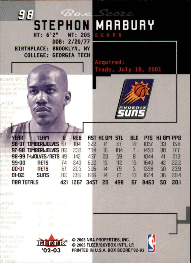 2002-03-Fleer-Box-Score-Basketball-Card-Pick thumbnail 195