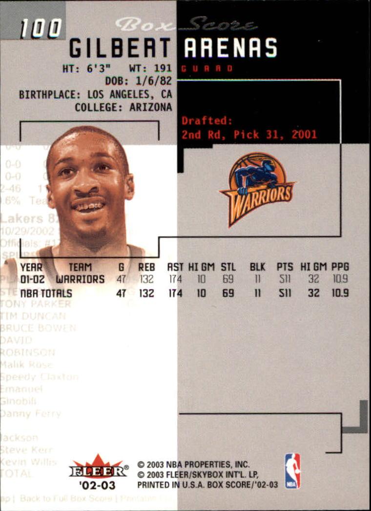 2002-03-Fleer-Box-Score-Basketball-Card-Pick thumbnail 199
