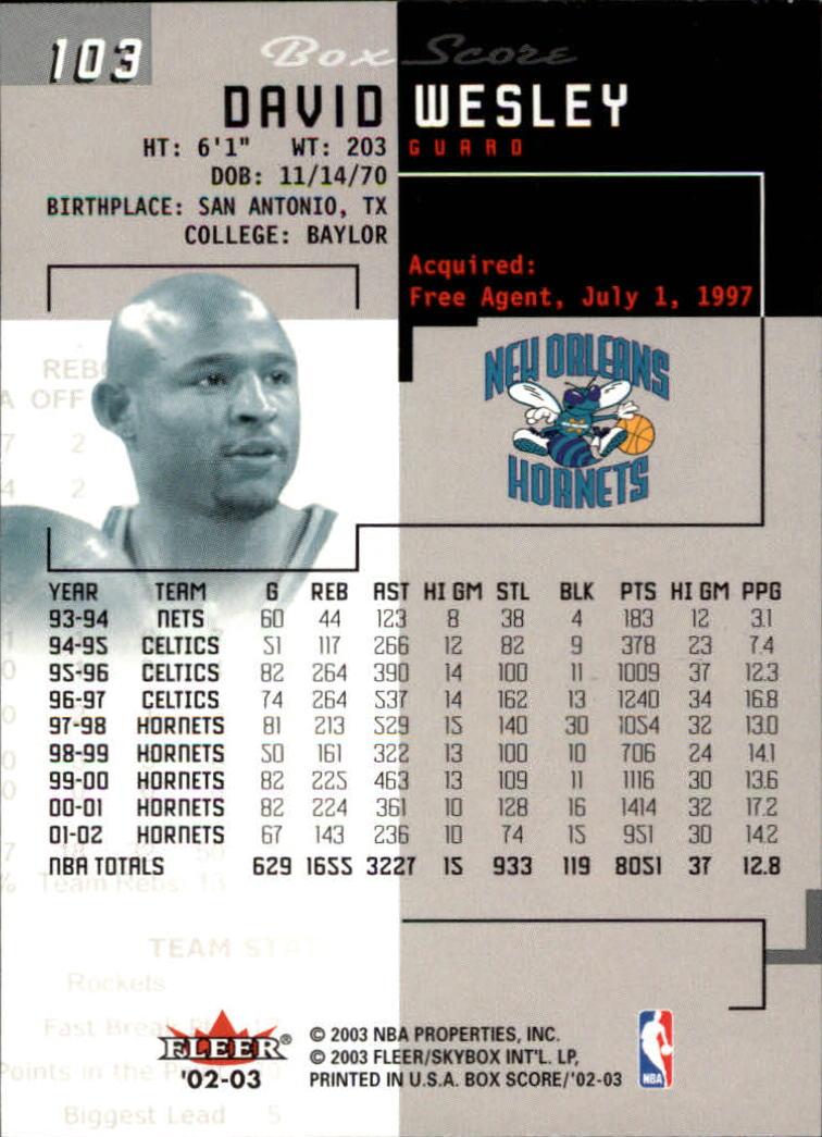 2002-03-Fleer-Box-Score-Basketball-Card-Pick thumbnail 205