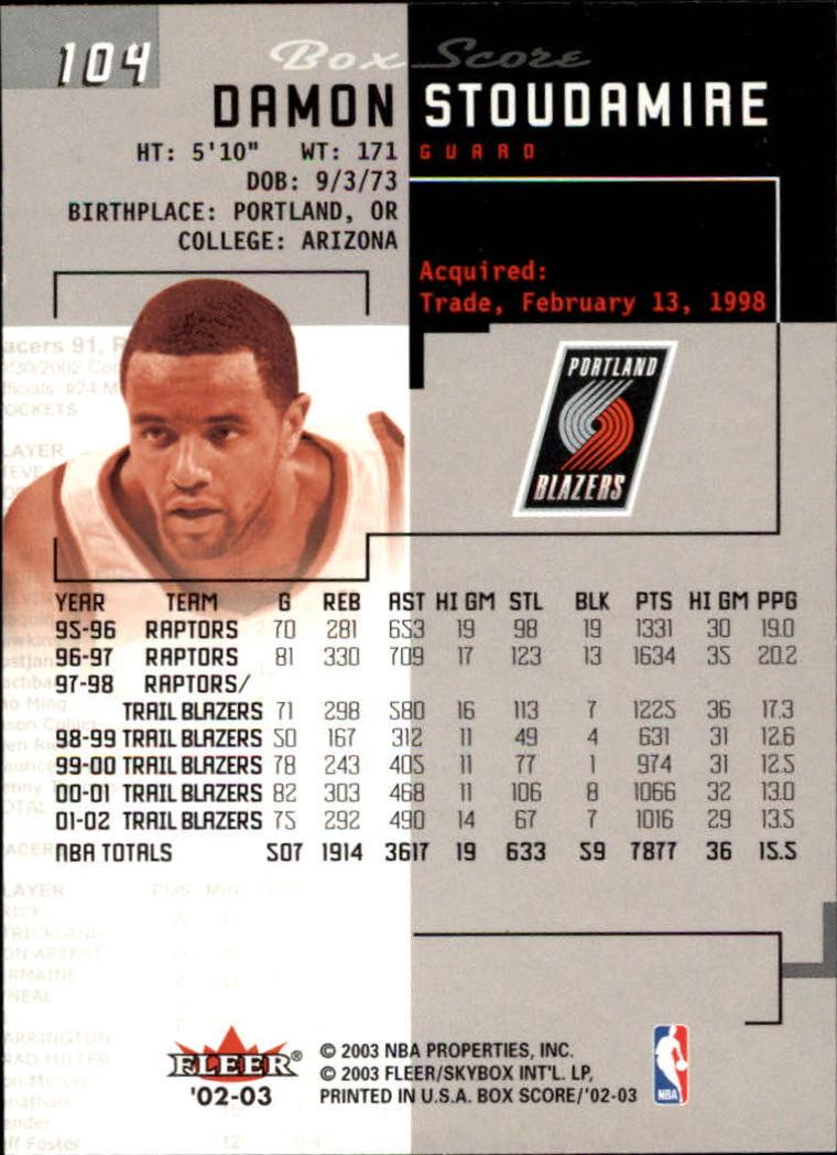2002-03-Fleer-Box-Score-Basketball-Card-Pick thumbnail 207