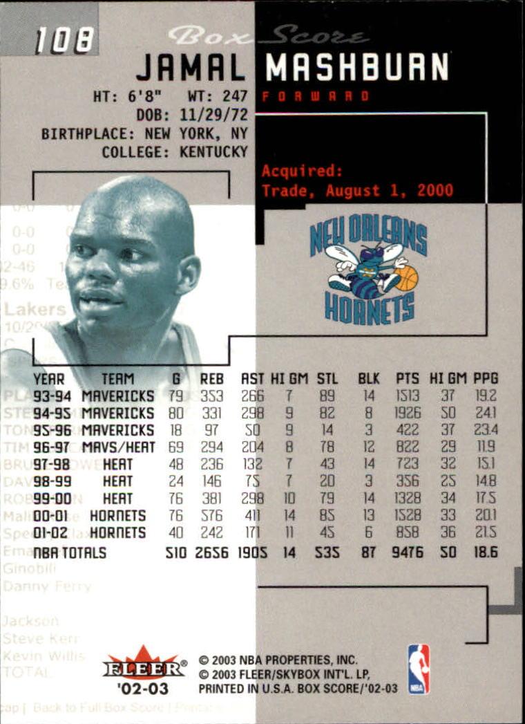 2002-03-Fleer-Box-Score-Basketball-Card-Pick thumbnail 215