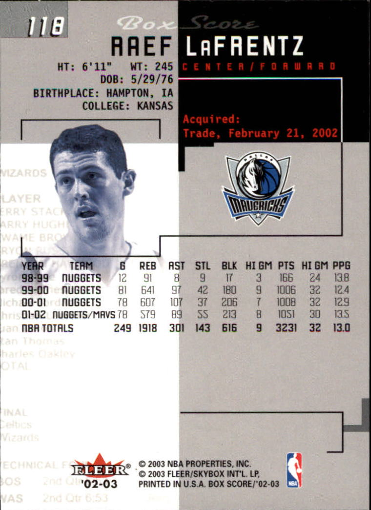 2002-03-Fleer-Box-Score-Basketball-Card-Pick thumbnail 235