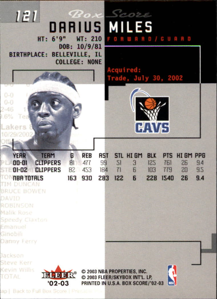 2002-03-Fleer-Box-Score-Basketball-Card-Pick thumbnail 241